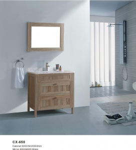 China PVC Bathroom Vanity with Side Cabinet on sale