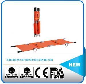China NC-T211 Alu Foldable stretcher on sale