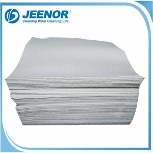 China Embossed Airlaid Paper Napkin Quarter Fold Packing on sale