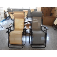 Textilene Furniture Adjustable Zero Gravity Folding Beach Chair