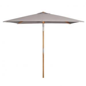 China Umbrella Outdoor Wooden Umbrella Tilt And Crank on sale