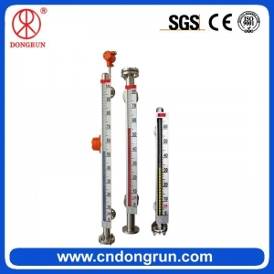 China Favorable 304 Stainless Steel Magnetic Liquid Level Meter on sale