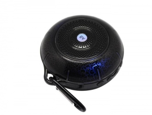 China Cool portable bluetooth wireless stereo speaker with TF solt/ LED light on sale