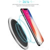 China Qi Wireless Charger 10W Wireless Charger LED Charging Pad For Samsung Galaxy S8 S7 S8 Plus Iph X 8 for sale