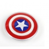 China Universal QI Wireless Charger for iPhone X 8 Samsung Galaxy S7 S6 S8 edge Captain America Shield for sale