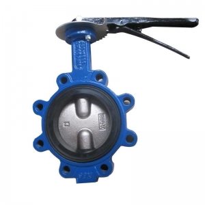 China Lug-type Double Semi-axis Midline Butterfly Valve on sale