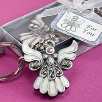 China Baby Shower Favors Angel Keychain Favor on sale