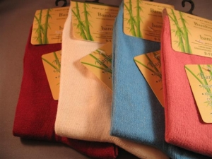 China 3-Pack of Eco-friendly Dress / Casual Bamboo Socks for Women Model: L0000326wa3 on sale