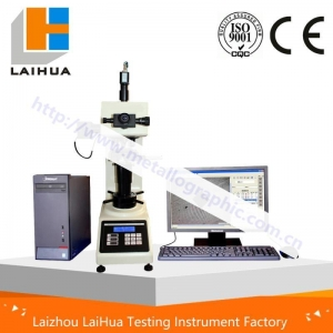 China Vickers hardness tester HVT-5、10、30、50/A Digital display vickers hardness tester on sale
