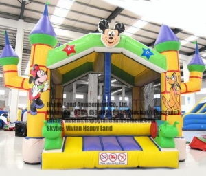 China HL-SB0024 Mickey Mouse Inflatable Jumping Bouncer on sale