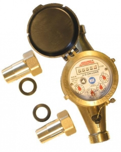 China Lead Free Brass Water Meter - WM-NLC Series on sale