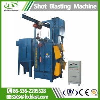 Shot blasting machinery Q37 series hook blasting machine