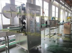 China Electric Driven End Of Line Packaging Equipment 150B/Min PVC Lable Sleeve Machinery on sale