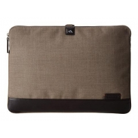 China Brenthaven - Collins Laptop Sleeve 15.4, Camel Chambray on sale
