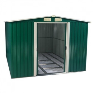 China Garden Furniture Metal Garden Shed Apex Roof Series on sale