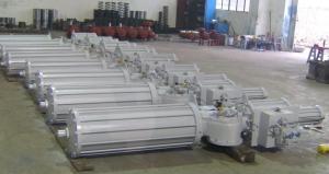 China Single Acting Spring Return Quarter Turn Pneumatic Actuators on sale