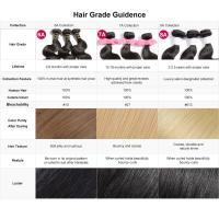 Quality Choice 100% Remy Straight Natural Black Human Braiding Hair for Black men