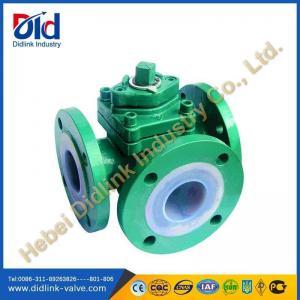 China three way plug valve applications, non lubricated plug valve on sale