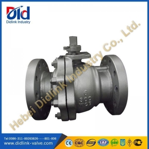 China Ansi cast steel Ball Valve flange type, ball valve picture on sale