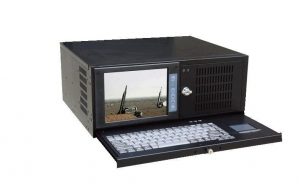 China LCD Rackmount workstation 4ULCDworkstationIEC-808E on sale