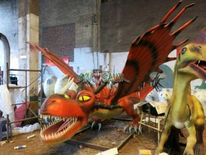 China Amusement dinosaur series Monstrous Nightmare from How to Train Your Dragon on sale