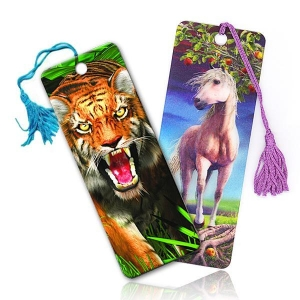 China lenticular 3d bookmark on sale