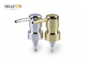 China Electrified Aluminum Hand Lotion Pump Dispenser , Plastic Soap Dispenser Pump OEM on sale