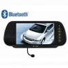 China 7inch rear view mirror monitor with Bluetooth M7 for sale