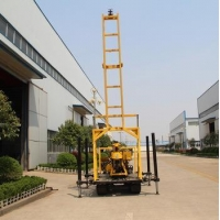 China rotary speed track mounted drilling rig on sale