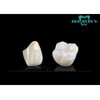China Adhesive Bridge Porcelain Dental Crowns Glass porcelain Material on sale