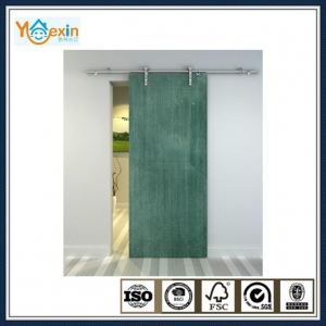 China wood sliding door system hanging door hardware on sale