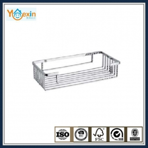 China stainless steel square type soap basket in shower room on sale