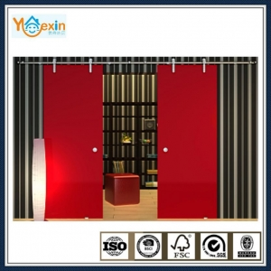 China China hot sale glass hanging sliding door system on sale