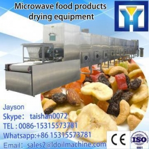 China NEW technology 50kw curry leaves microwave drying equipment on sale
