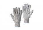 LC3-9 aramid leather palm cut resistant glove