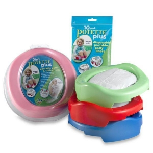 China 2 in 1 Travel Potty Chair & Seat - Potette Plus on sale