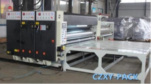 China YFQ 1650*2600 Two Color Printing Slotting Machine on sale