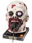 China Animated Zombie Head Eating Rat on sale
