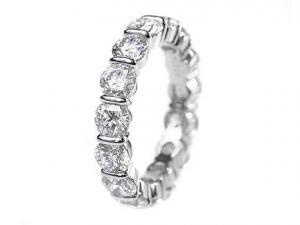 China Diamond Wedding Bands 0.30 ct on sale