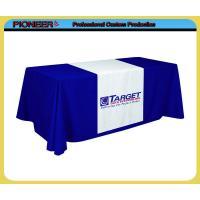 Custom printing table drapes, table throw, table covers
