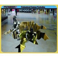 China Custom made advertising vinyl floor decal on sale