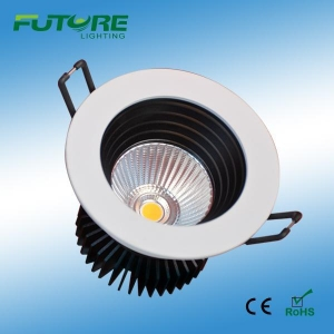 China COB Downlight 9W ultra slim led downlight,dimmable led ceiling downlight on sale