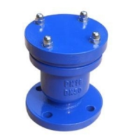Single ball air valve