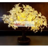 China Super simulation LED bonsai tree with ceramics base HL-SLMT090 on sale