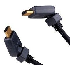 China 299003X - Vanco 1080p CL3 Rated 1.4 HDMI Cable with Swivel Heads, 3 ft on sale