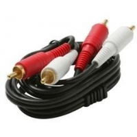 China Coaxial Cable Splitters 255-220 - Premium 2 RCA to RCA Audio Patch Cord, 3 ft on sale