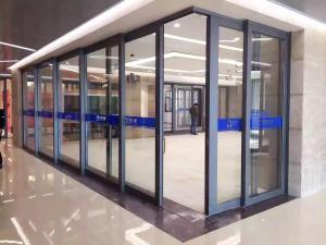 China Pocket door/Corner sliding door on sale