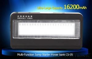 China CE,RoHS Certification and Jump Start Type car jump starter powerbank 16200mAh on sale