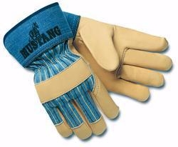 China Mustang Grain Leather Work Glove on sale