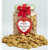 Holidays Happy Valentines Day! Chocolate Chip Cookie Jar